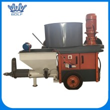 Red color wall cement plaster spray machine