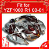 Racing full fairings with ABS plastic for YZF R1 2000 2001, High quality ABS plastic,YZF 00 01 Red/Silver