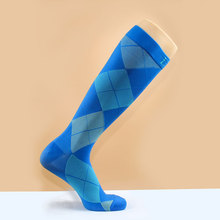 Compression Socks 15-20mmHg Best High Performance Athletic Running Socks - Men & Women