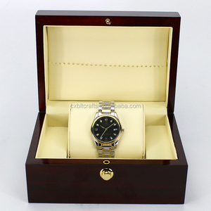 Gift & Craft Industrial Use and necklace Use Top Quality Wooden Watch Box