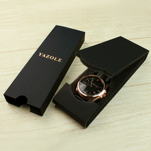 MY-01Yazole Luxury Watch box Folding Black Gift Watch Boxes For Sale