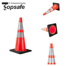 Lower factory price pvc cone traffic lane divider