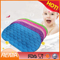 RENJIA Soft anti slip shower mats for kids with Suction cups silicone bathtub mat for Bath, Bathroom or Tub Floor
