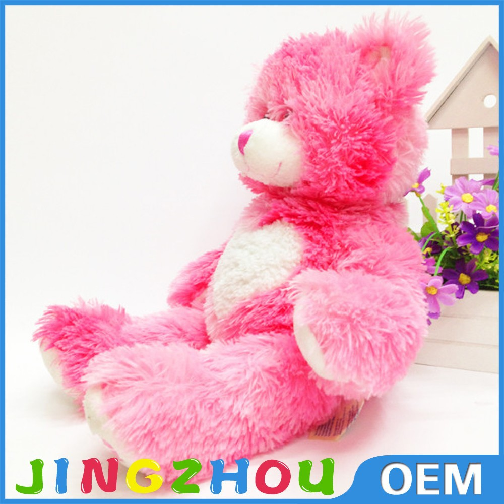 Plush Pink Bear Toy,Soft Baby Toys,Teddy Tear Plush Toy