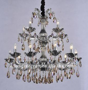 15-Light Super Crystal Pendant Lamp LRC066-3