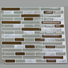 Facoty XM-3DTILESTICKER006 Home Decoration Use Waterproof Removable Kitchen Wall Tile Stickers 3D Tile Sticker