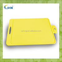 new product high quality plastic flexible cutting board silicone cutting board