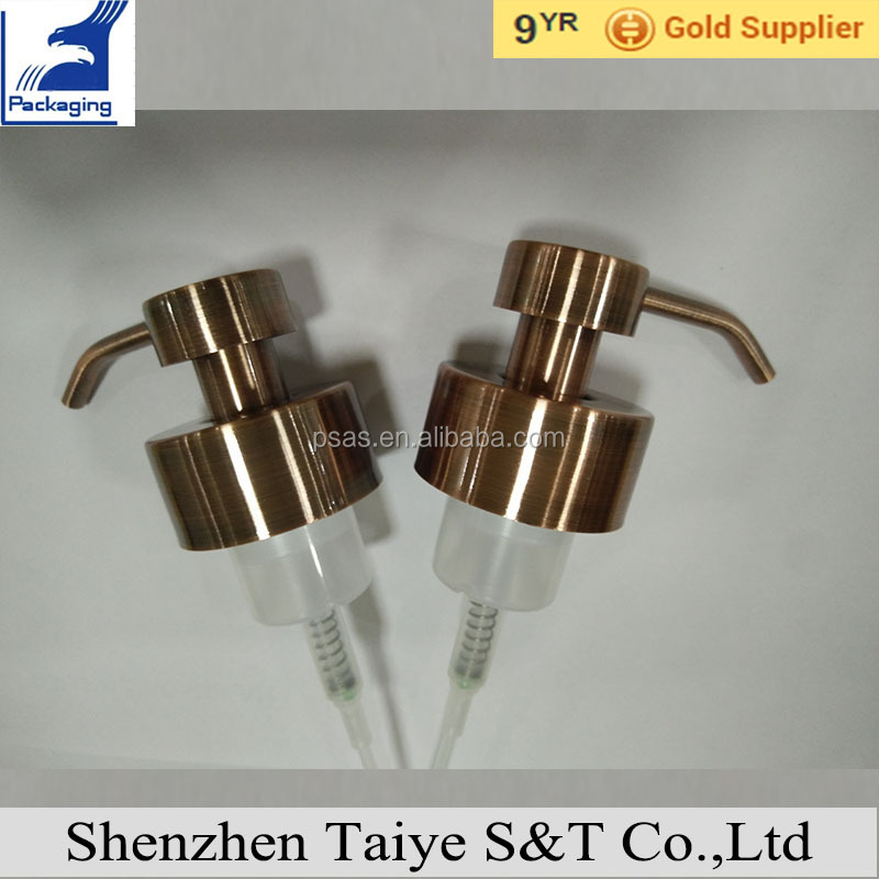 46mm Metal Stainless Steel Soap Foam Pump for Soap Liquid