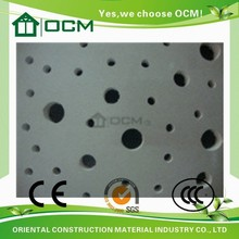 Fire Rating Mgo Decorative Acoustic Ceiling Tiles