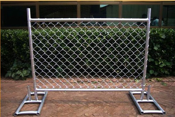 Hot sale 42 micron welded and galvanized security portable Australia temproary fence