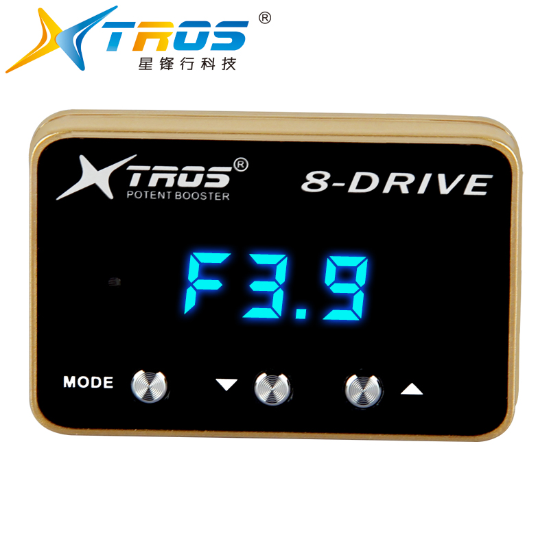 Shenzhen TROS car parts manufacturing potent booster auto spare parts car electric throttle controller for chevrolet captiva