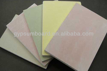 higher quality paper faced gypsum boards/ gypsum building material