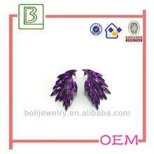 Fashion Purple noble earrings 2013 ear rings