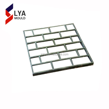 2018 New product Plastic Concrete Paver garden walkway pavement concrete tile moulds