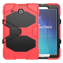 Rugged Waterproof Case for Samsung Galaxy Tab E 9.6 T560 Tablet Cover Kidsproof