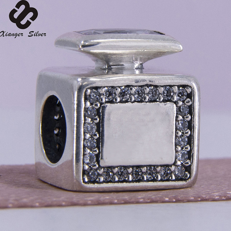 China Factoy Authentic European Charms Of Original 925 Sterling Silver Signature Scent Perfume Bottle bracelet Beads