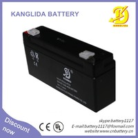 shenzhen 20Hr rate sealed lead acid battery 6v 3.3ah
