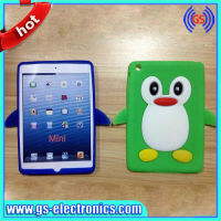Penguin shape case 3D animal shape case for ipad mini multicolor in stock