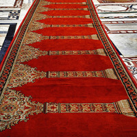 PP Muslim Dark Color Dirty Proof Mosque Carpets