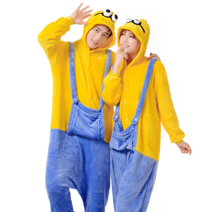 Cheap Minion Adult Pajamas, find Minion Adult Pajamas deals on ...
