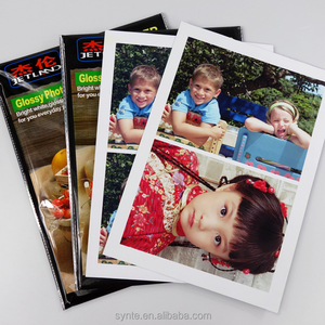 Jetland A4 Glossy Paper 230G photo Inkjet paper 20 sheets per pack with waterproof colorful bag