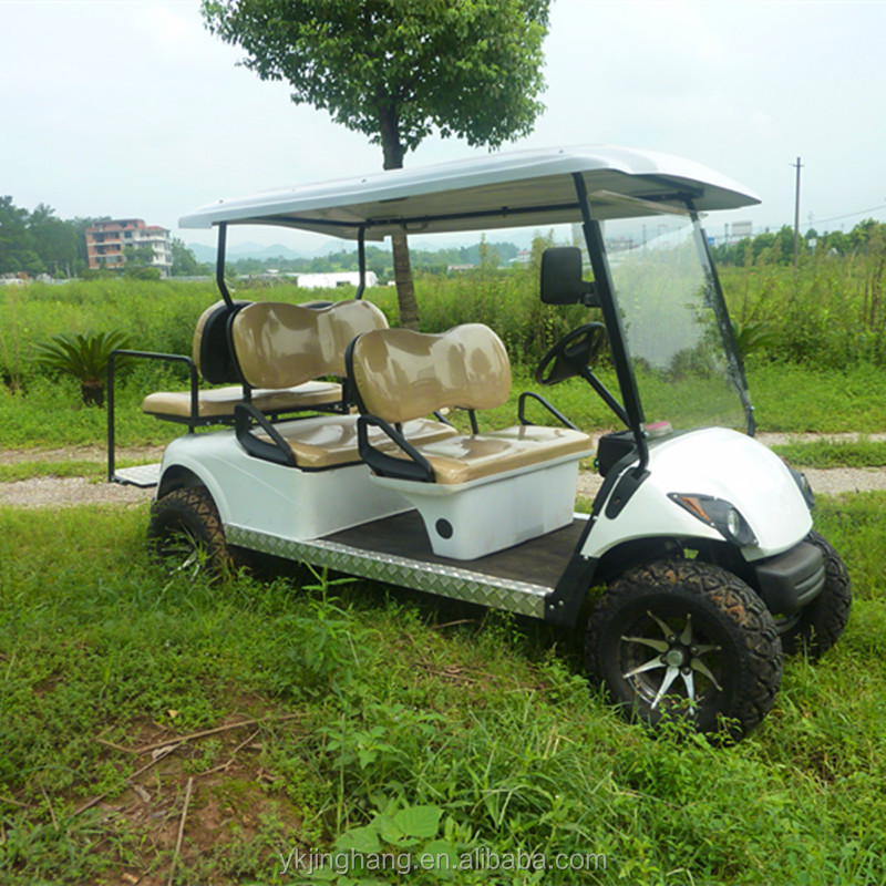 Gas powered golf cart with 250CC engine and off road tyre for sale
