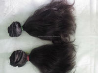 "5A Grade Brazilian Virgin Hair Product 12"" inch Natural Black Remy Indian Wave Hair Extentions, Natural Human Hair Sale"