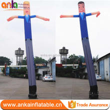 Big size outdoor inflatable bride and groom costume air dancer for wedding decorations