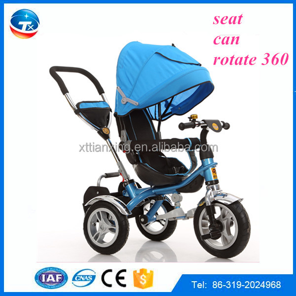 fashion 3 wheels baby buggy with canopy colors vary