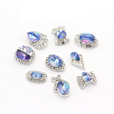 Hot Sell Alloy Crystal Rhinestone Nail Art Design