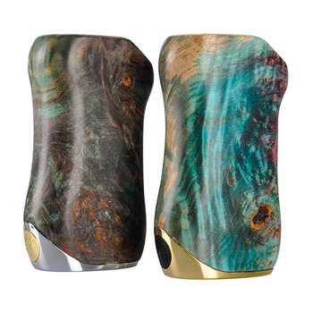 Asvape Gabriel Stabilized Wood mod vaping With 18650 Battery