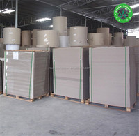 A quality high rigid paperboard grey paper price per ton USD 410