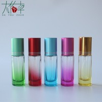 Free sample 20 ml mini screw perfume empty bottle with sprayer and cap