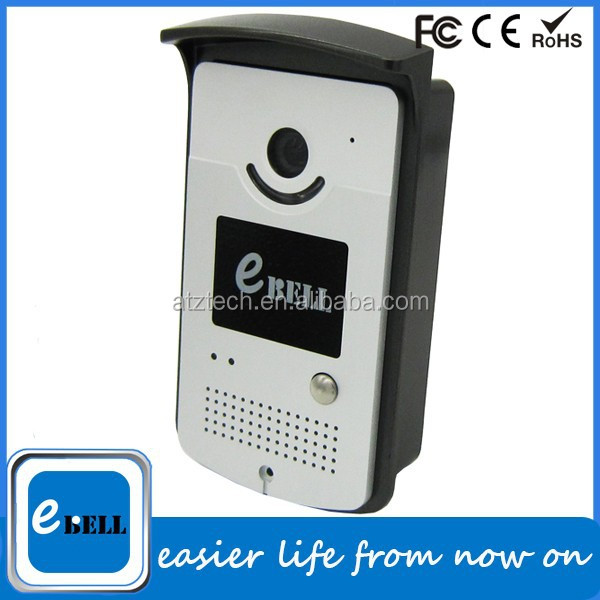 Ebell let you any where any time control door with mobile wireless ip video door phone you can watch and talking