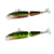 Kesun Fishing CH14MN5 Hard Plastic Minnow Fishing Lure Swimbaits