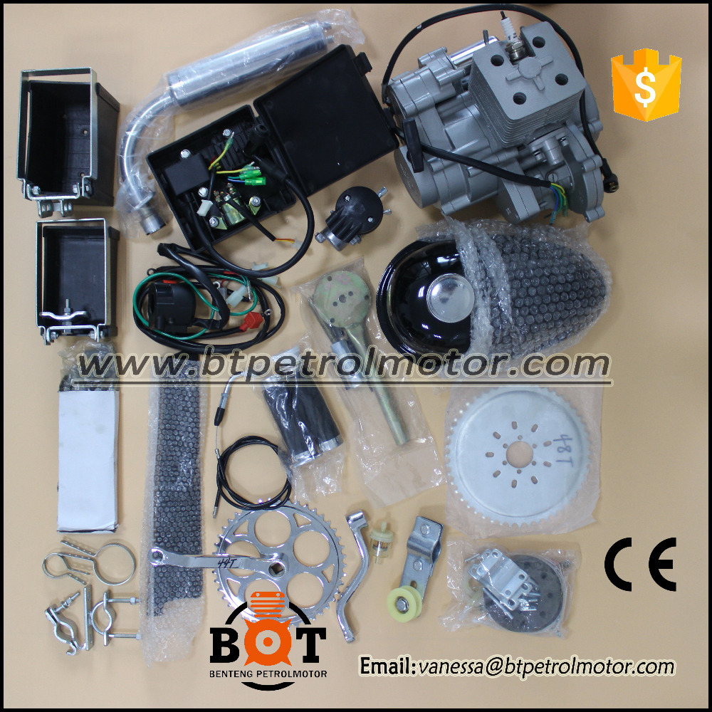 2 stroke 80cc bicycle engine kit/bike gas/motor engine