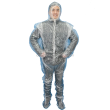 disposable plastic sauna suit for laundry