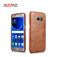XOOMZ PU Leather Case for Samsung Galaxy S7 Edge Ultra Thin Back Cover