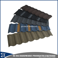 High quality stone coated metal roof tile, anti storm metal tile