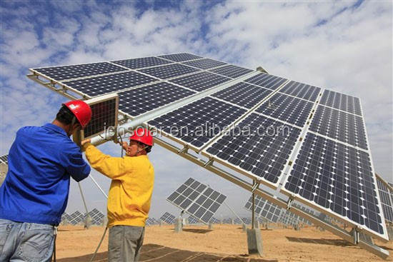Customized high quality dual axis solar tracking system