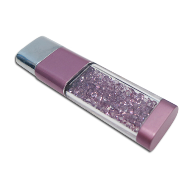 nice colorful usb pmma crystal usb flash memory pen drive for resale