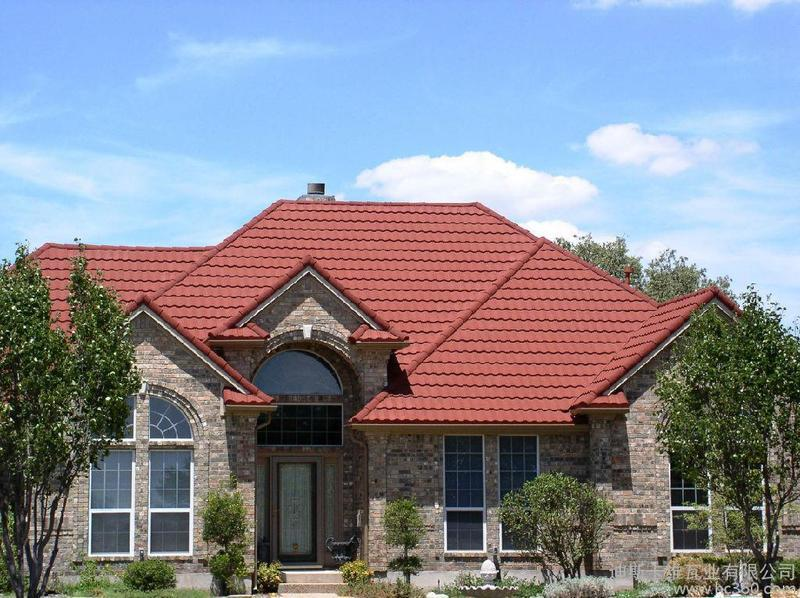 2015 High Quality Solar Roof Tiles Stone Coated Metal Roof
