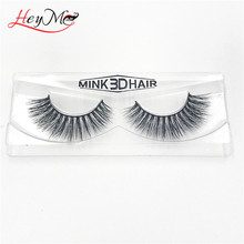 Wholesale 100% 3D Mink Fur Strip Eyelashes