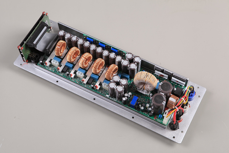 big power 3-way calss-D speaker amplifier module with buiult-in DSP H1.3D1