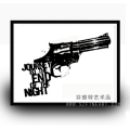 Good Priced Handpainted pop art gun painting