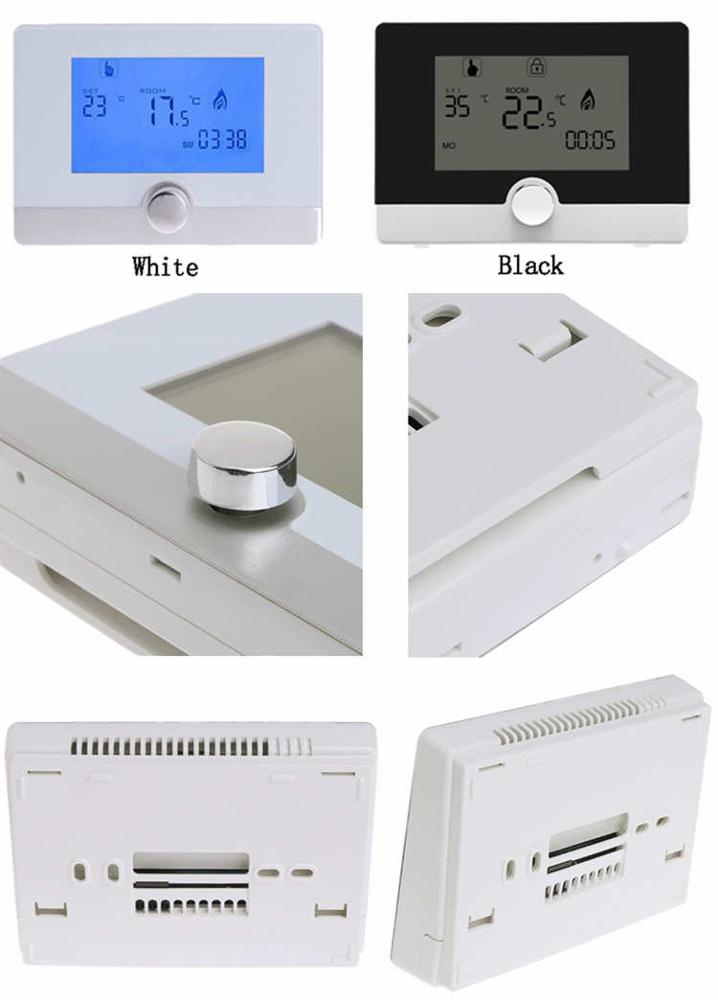 Smart room digital thermostat for wall-hung boiler heating ,water radiator battery thermostat