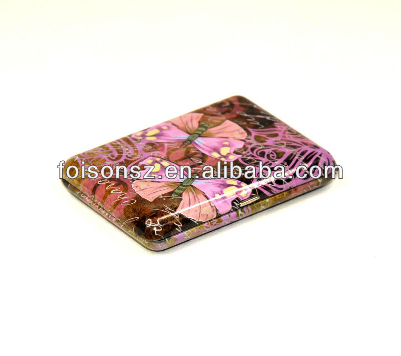 cute metal tin box for business card