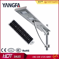 YANGFA day/night sensor 30w 12v led solar street light AS01 30W