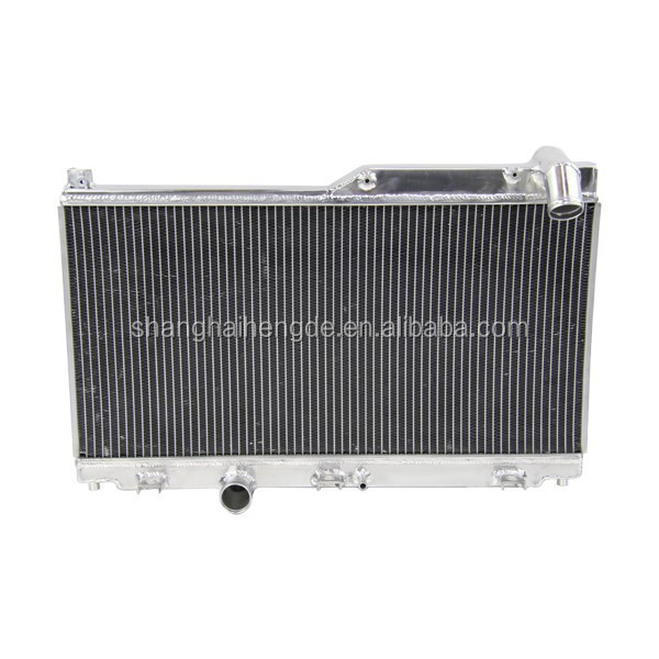 Auto All Aluminum Radiator For MAZDA SPEED RX7 92-95 FD3S MANUAL rx7 s4 turbo(42MM,2ROW)