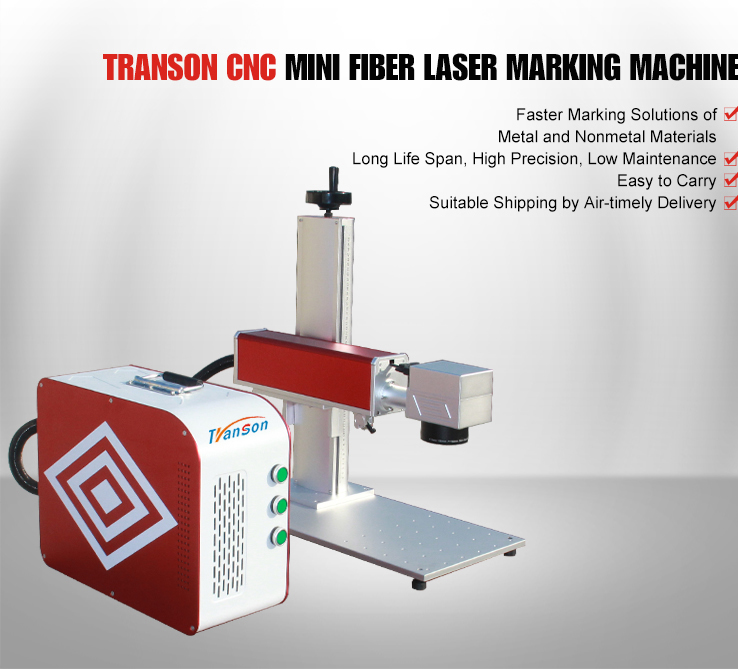 IPG 20W Mini Fiber Laser Marking Machine